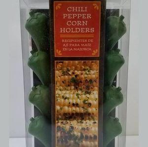 Chili Pepper Corn Cob Holders